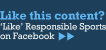 Like Responsible Sports on Facebook